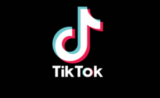 The familiar TikTok logo