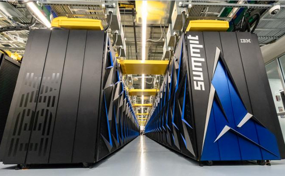 Summit supercomputer, made by IBM - bigger than your average computer