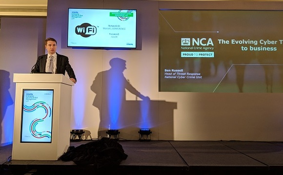 Ben Russell, speaking at Enterprise Security & Risk Management Live, is head of threat response at the National Crime Agency