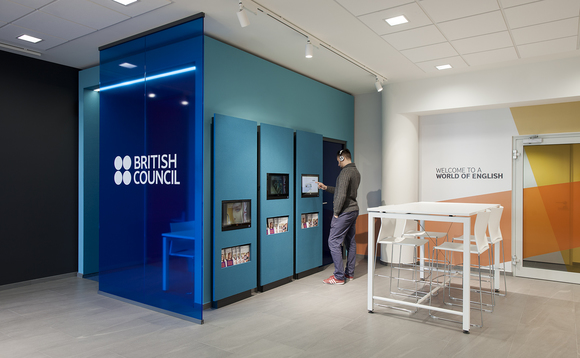 The British Council operates around the world