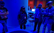 Folie à deux: Hands-on with Microsoft HoloLens in a shared user environment
