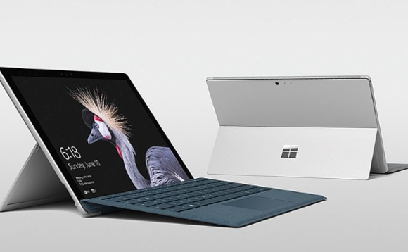 Microsoft's new Surface Pro - not much different from the two-year-old Surface Pro 4
