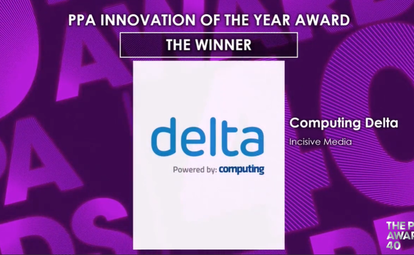Delta wins prestigious Innovation of the Year award