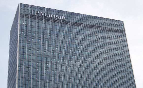 JP Morgan's European headquarters in Canary Wharf