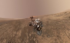 Curiosity rover finds Mars may not be as dense as thought