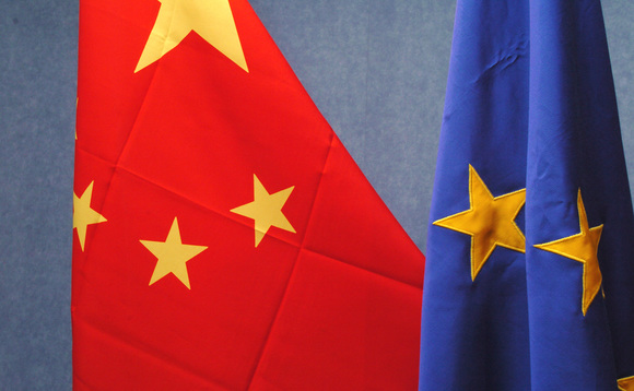 European data traffic re-routed via China last week