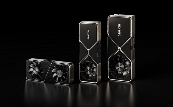 NVIDIA has announced RTX 3090, 3080, and 3070 graphics cards. Image Credit: NVIDIA