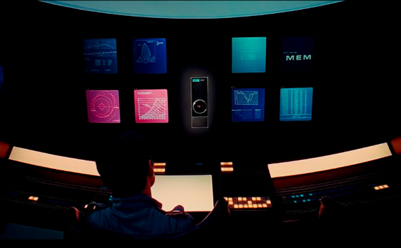 The interface Dr David Bowman had to grapple with in 2001: A Space Odyssey