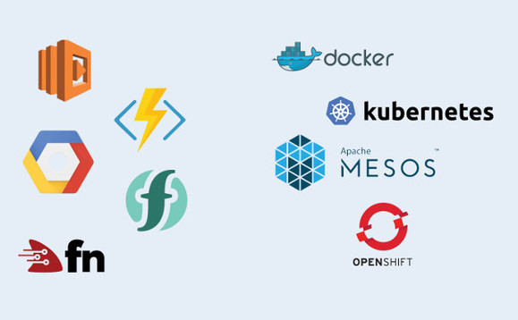 Despite their newness, adoption of containers and serverless cloud is rising fast