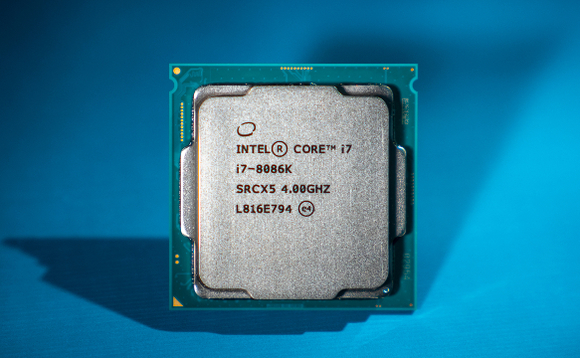 Intel unveiled its Core i7-8086 CPU at Computex in Taipei