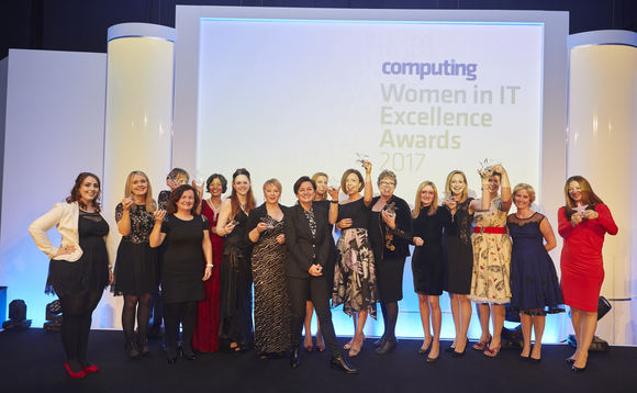 Women in IT Excellence Awards winners 2017