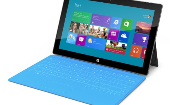 Microsoft enters tablet fray with its Surface device