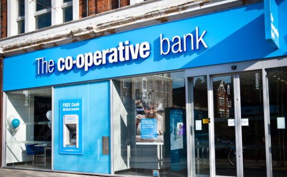 Cooperative Bank branch in West London