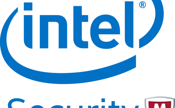Intel's old Intel Security logo...