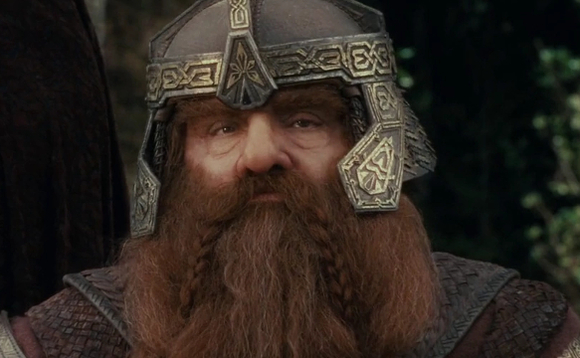 Gimli would have been safer mining cryptocurrencies. Image copyright  New Line Cinema/WingNut Films