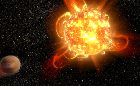 Hubble Space Telescope finds superflares from young red dwarfs could strip away planetary atmosphere