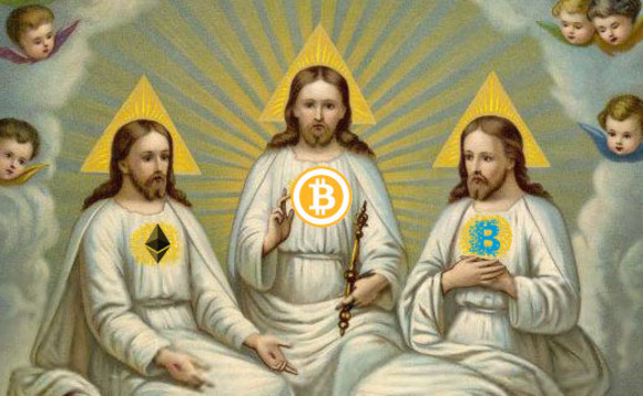 Behold! The blockchain messiah!