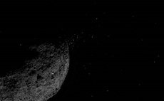 NASA spacecraft observes particle plumes erupting from the surface of asteroid Bennu
