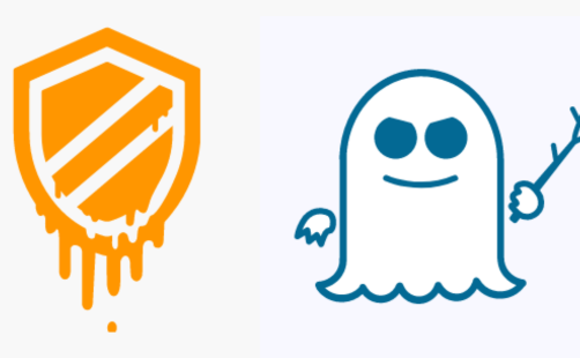 The 'logos' produced for the Meltdown and Spectre security flaws affecting CPUs from Intel