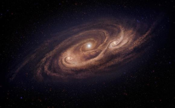 Astronomers achieve 10 times higher angular resolution of 'monster' galaxy than ever before