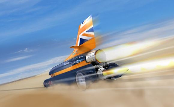 The Bloodhound SSC car was 'built in a big shed in Bristol'