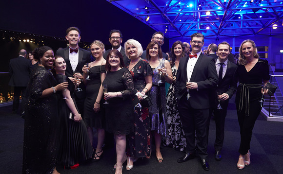 Crowds at the UKIT Awards 2019