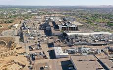 An aerial view of Intel's Rio Rancho facility in New Mexico