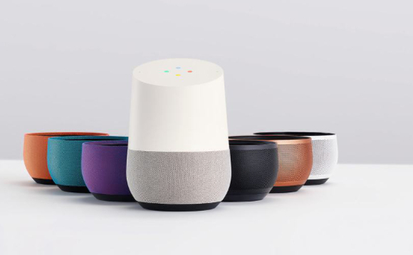 Google Home 'smart' assistant with interchangeable bases - definitely not a cheap air freshener