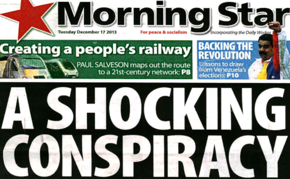The Soviet Union funded the Morning Star newspaper for its own propaganda purposes in the pre-internet age