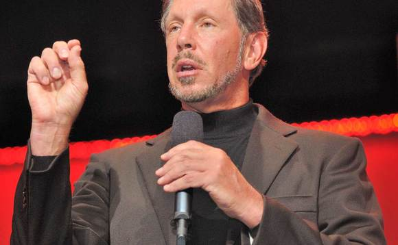 Oracle CEO Larry Ellison dismisses customers' NSA snooping concerns