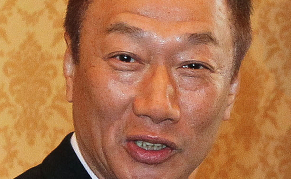 Foxconn founder and CEO Terry Gou