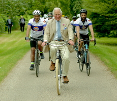 <div>Computing's publisher helps to raise £1.2m after unique charity royal cycling tour</div>