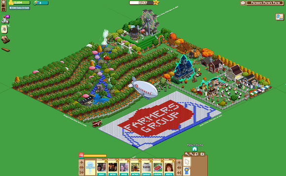 Zynga's Farmville was wildly popular on Facebook - about ten years ago