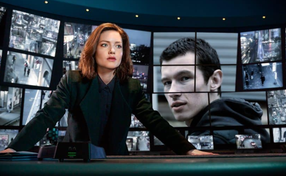 The BBC TV drama series, The Capture, illustrated how deepfake footage could be used to frame someone. Image copyright BBC
