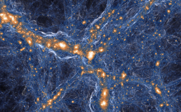 Astrophysicists' new simulation explores black holes and dark matter in super-high resolution