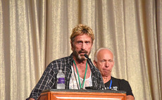 John McAfee: 'I'll crack the San Bernardino Apple iPhone or I'll eat my shoe'