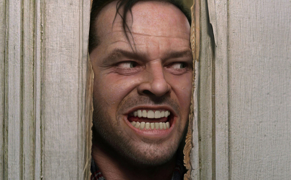 Scene from the Shining. Image copyright Warner Bros, Hawk Films, and Peregrine