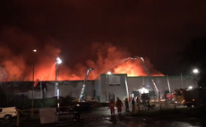 Ocado orders cancelled as fire rips through Andover warehouse