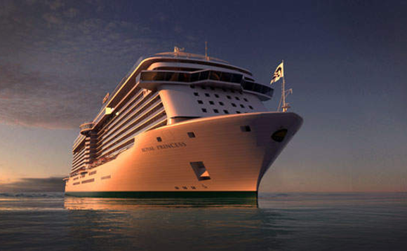 The Royal Princess is one of five vessels featuring the Ocean Medallion