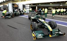 Mobile datacentre pushes Team Lotus up the grid