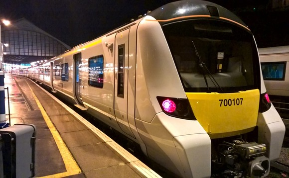 Class 700 train waiting at the station. Image from Network Rail
