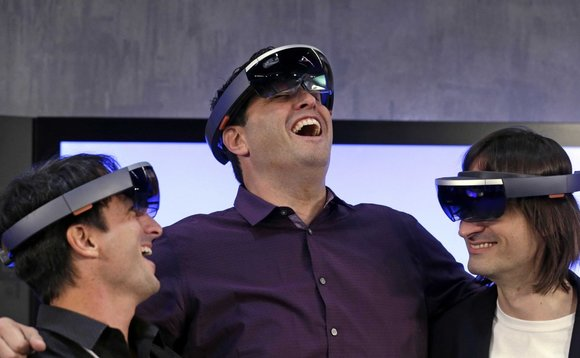 Microsoft's HoloLens will give you the opportunity to look like this...
