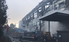 Ocado Andover warehouse fire could continue 'for days'