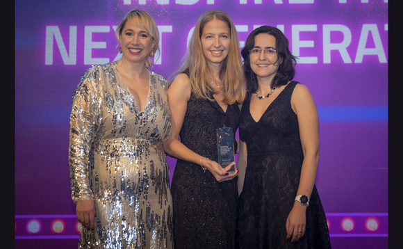 Isabel Richards discusses winning the Rising Star (Enterprise) award at the Women in Technology Excellence Awards 2018