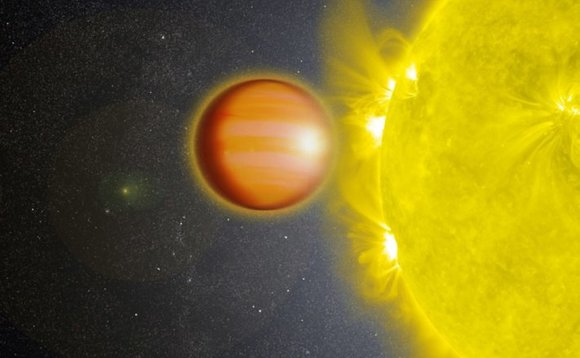 Scientists find exoplanet with an atmosphere completely free of clouds