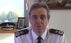 Shaun Sawyer, Chief Constable of Devon & Cornwall Police, appearing in a Force video