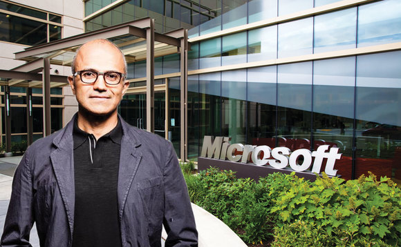 "Satya Nadella looking ""energised by the tremendous opportunity ahead"""