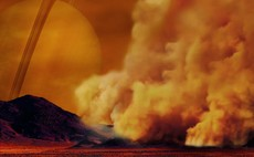NASA observes giant dust storms in equatorial regions of Saturn's moon Titan for the first time
