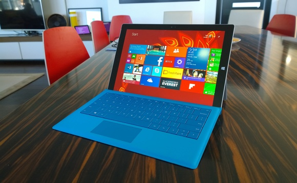 At home with the Microsoft Surface Pro 3