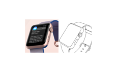 Samsung filed patent for wearables that used sketches of Apple Watch